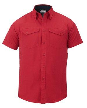 Overhemd Katoen, korte mouw
