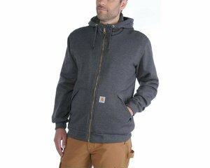 Carhartt sherpa-lined zip hooded sweatshirt