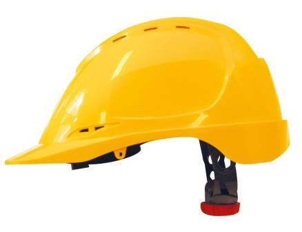 M-Safe hoofdbescherming - M-Safe ABS veiligheidshelm MH6020, met draaiknop