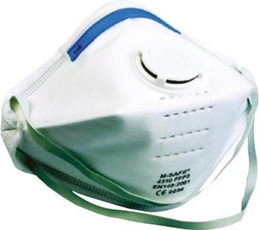M-safe hoofdbescherming Stofmasker 4310