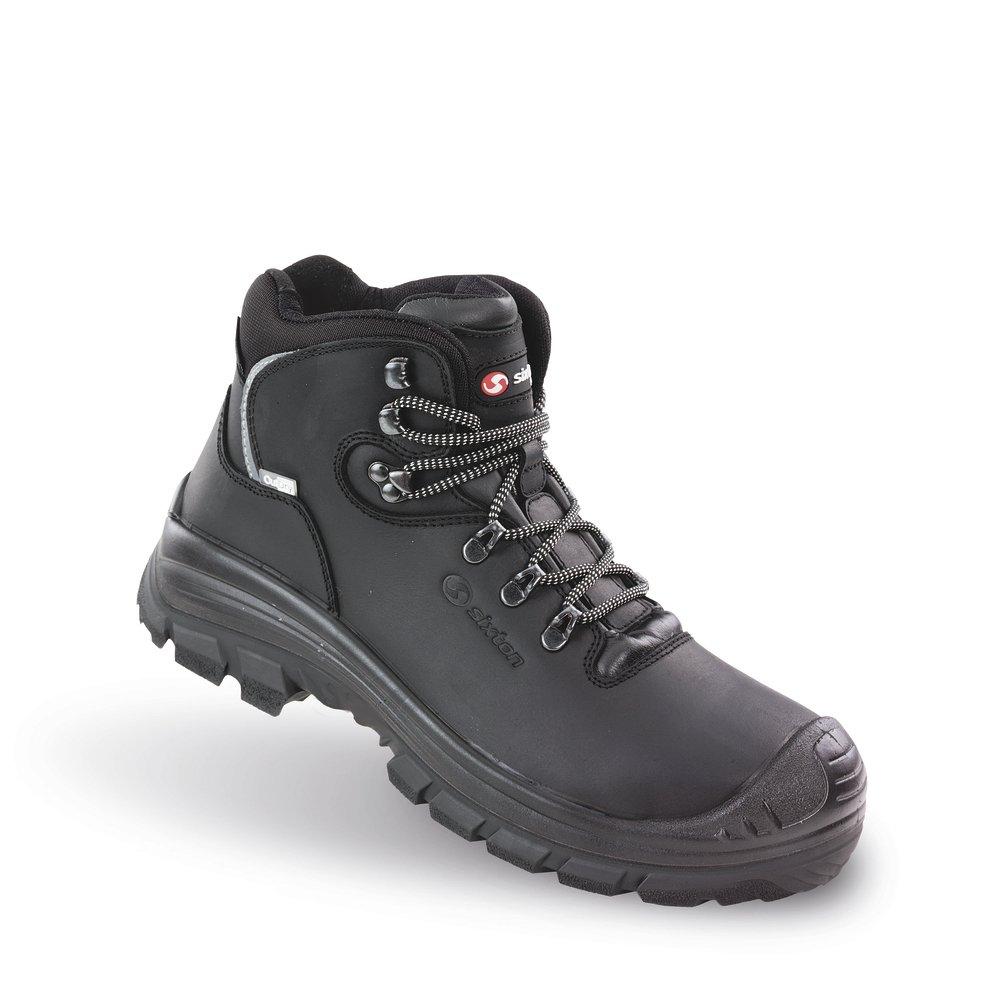 Sixton Peak lage werkschoenen kleur zwart